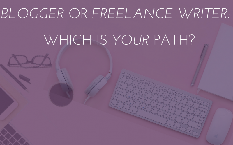 learn how to be a blogger or a freelance writer.