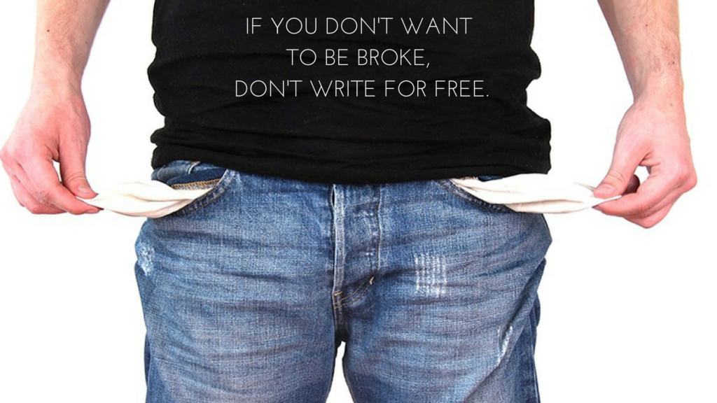 Should you write for free if you want to be a freelance writer?