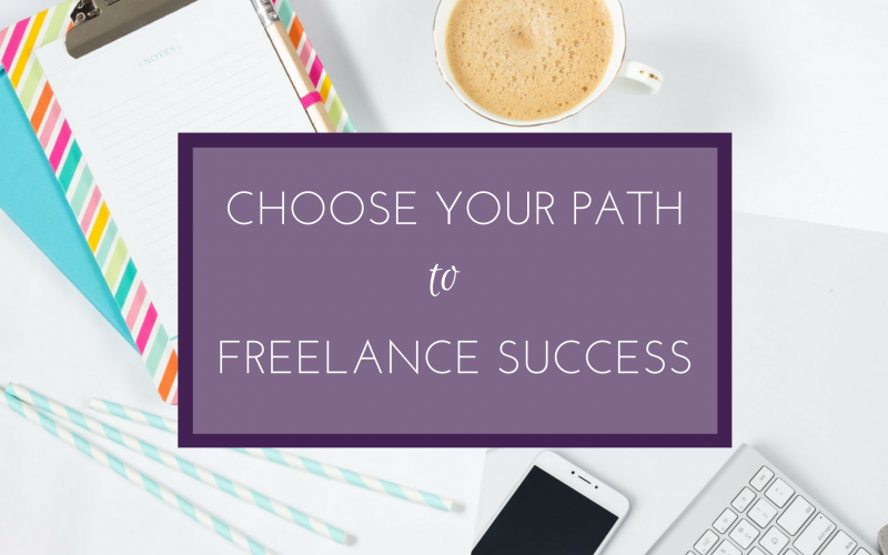 Choose your own path to freelance success
