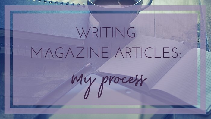 how to write a magazine artlcle