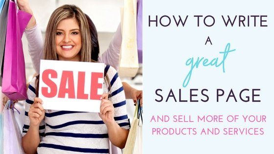 How to Write a Great Sales Page